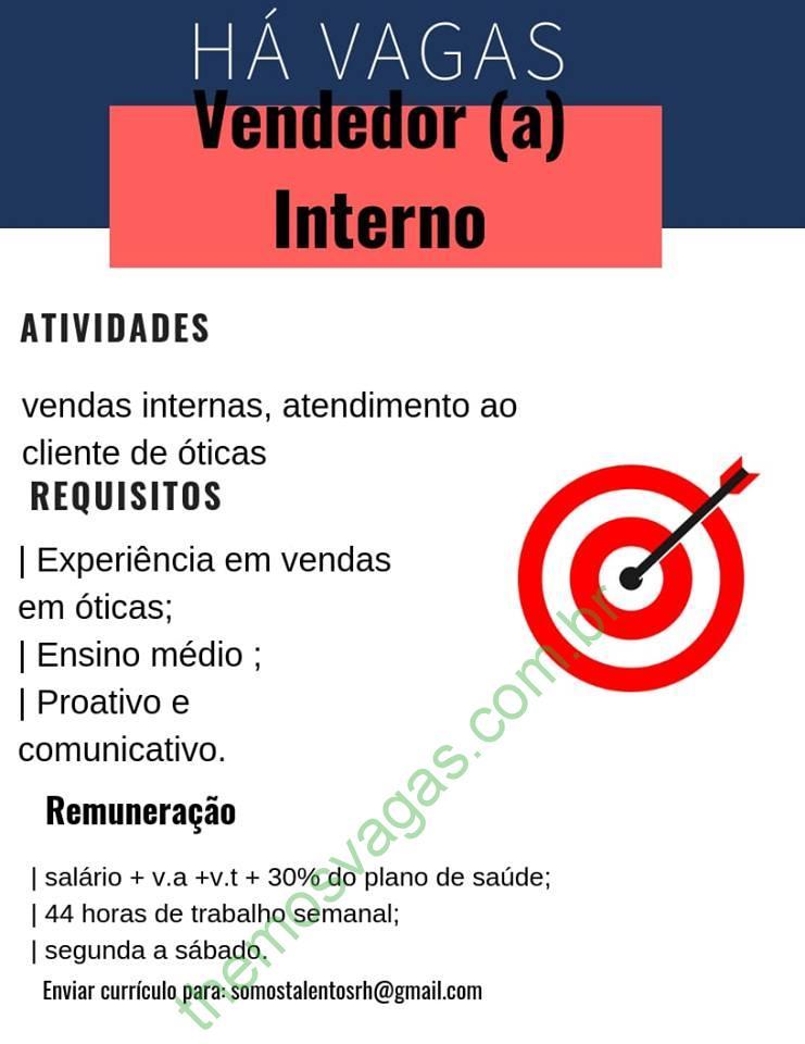 a1fd0d8755b88 Emprego para Vendedor(a) Interno(a) em Teresina – PI   Themos Vagas ...