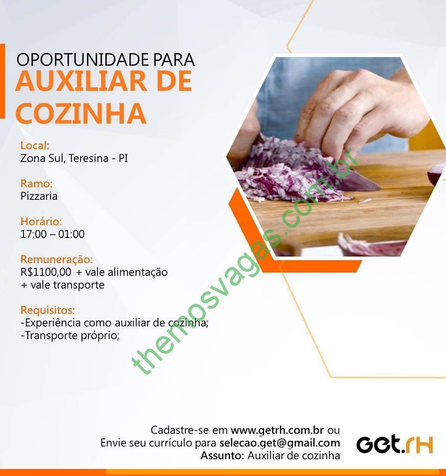 0e8996d20e286 Auxiliar de Cozinha em Teresina – PI   Themos Vagas   Empregos e ...